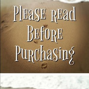 Please Read Before Purchasing